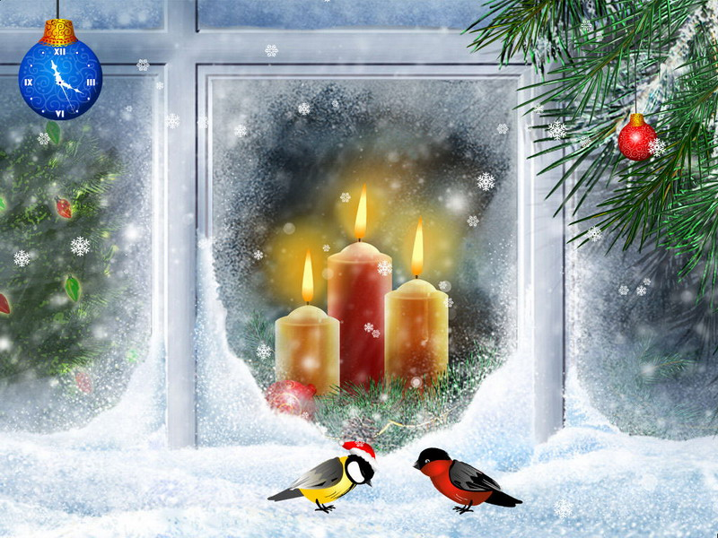 christmas candles screensaver 1 0 bei freeware. Black Bedroom Furniture Sets. Home Design Ideas