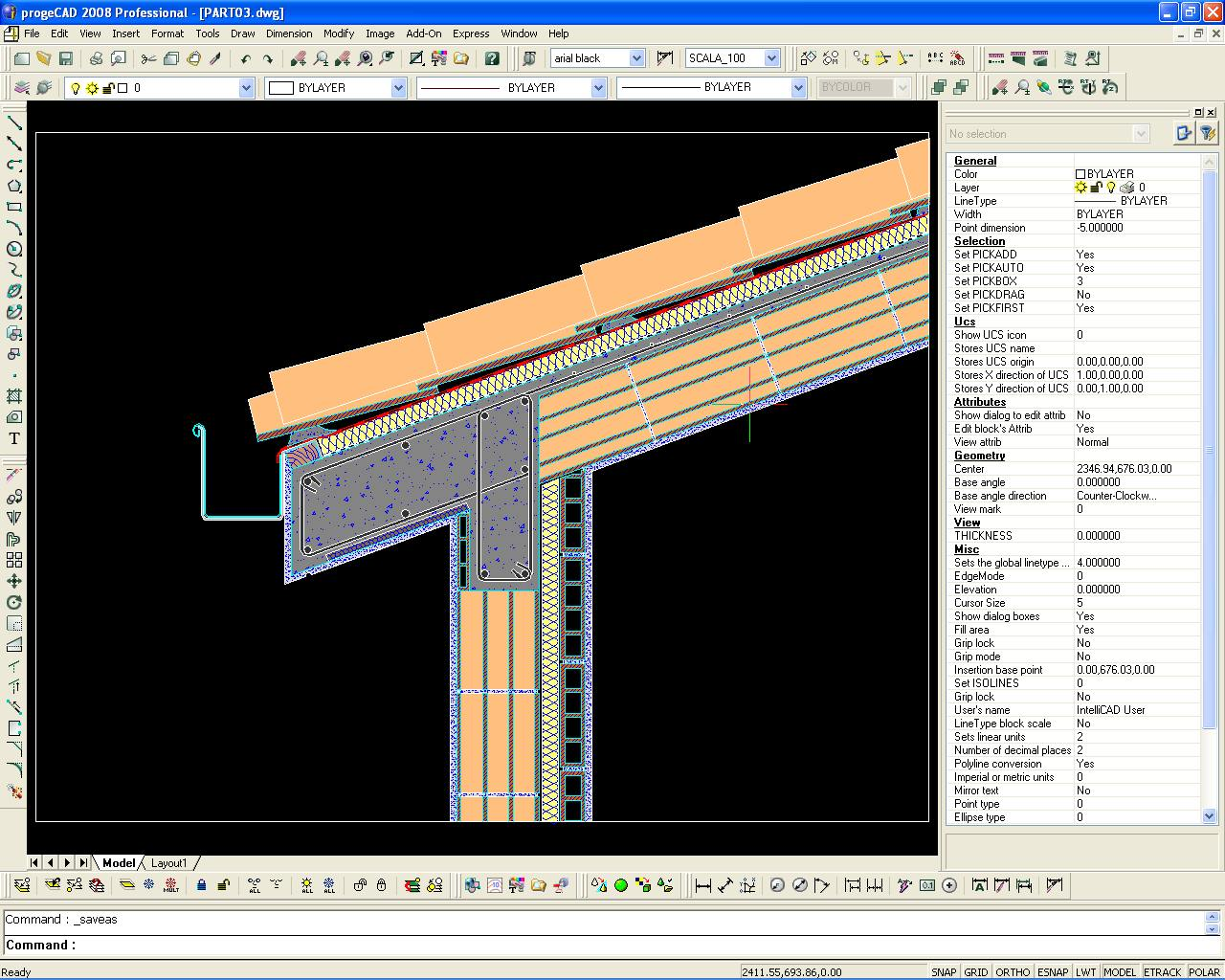 Progecad professional dwg cad bei freeware download com