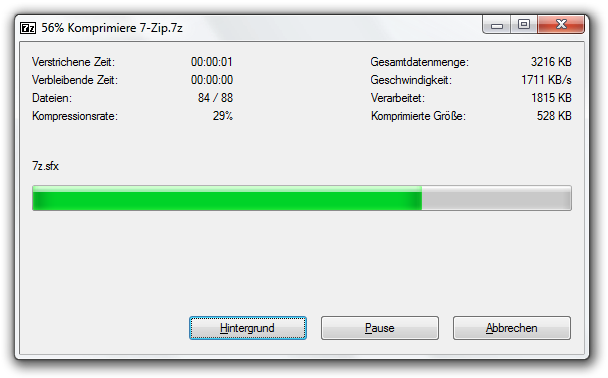 zip programm freeware