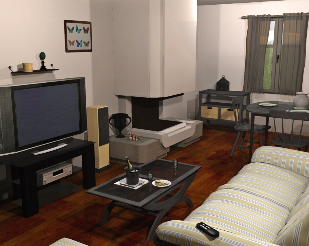 3d architektur freeware. Black Bedroom Furniture Sets. Home Design Ideas