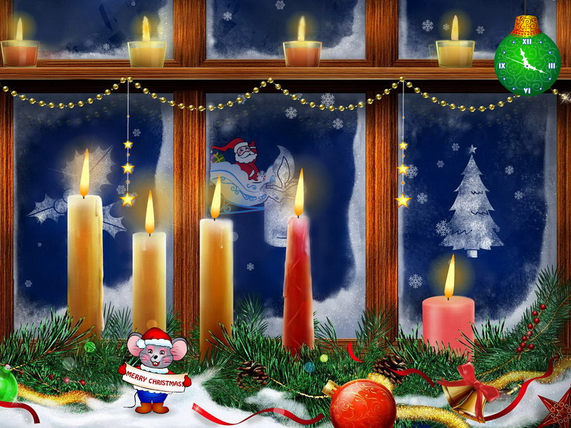 Christmas Candles Screensaver 1.0 bei Freeware-Download.com